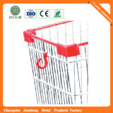 Baby Seat (JS-TAM07)를 가진 210L American Style Supermarket Shopping Cart