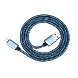 6 супер длиннего голубого футов кабеля USB Micro