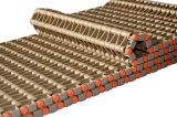 Kleine Ausbohrungs-perforierter flacher modularer Plastikriemen mit Entwässerung