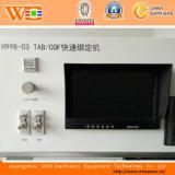 Máquina de vinculación de gran tamaño de Acf FPC del diente de la tabulación de la máquina de vinculación del LCD Cof H998-03