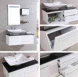 Governo moderno di vanità della stanza da bagno del PVC (B-8090)