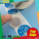 ISO18092 Ntag213 Firmenzeichen bedruckbarer NFC passiver intelligenter Kennsatz