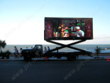 트럭 또는 Trailer Mounted SMD P10 Outdoor LED Moving Sign