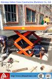Aumentando o tipo plataforma de levantamento hidráulica feito-à-medida