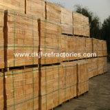 Briques élevées de poche d'alumine de caractère réfractaire élevé pour les garnitures de poche en acier