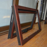 Guichet en bois en aluminium Kz351 de tente de profil de qualité