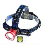 Дешевый и самый лучший Headlamp ввозов T6, светильник горнорабочей, удя светильники
