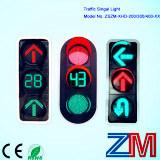 높은 발광성 도로 안전을%s 무선 가득 차있는 공 LED 번쩍이는 신호등/교통 신호