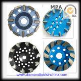 Concrete를 위한 다이아몬드 Cup Grinding Wheel