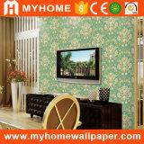 Papel de parede Home do PVC da sala de visitas do fundo da tevê