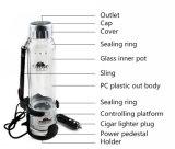 Портативная кружка топления 280ml PTC с PP и стеклянной бутылкой