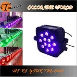 무선 자주색 색깔 LED 최소한도 가벼운 결혼식 훈장