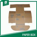 一つのフォールドの段ボール紙ボックス