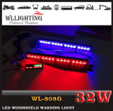 Indicatori luminosi d'avvertimento della polizia del precipitare della piattaforma del supporto LED del pollone di Puple