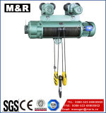 125kg Electric Hoist van Wire Rope met Single Speed