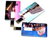 entraînement par la carte de crédit de stylo usb de cadeau de la promotion 1GB