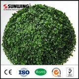 卸し売り高品質の庭の人工的なBoxwoodの装飾刈り込み法の塀の球