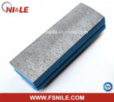 Herramienta de diamante Metal-Bond Abrasivo Fickert Grinder Block for Granite (140mm Aluminum)