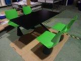 잘 설계되는 결합된 대중음식점 테이블 및 의자