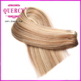 Di punto culminante capelli del Virgin dell'essere umano diritto 100% dell'estensione brasiliana dei capelli