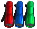 lanterna elétrica relativa à promoção do presente da lanterna elétrica da lanterna elétrica da forma do bowling 9LED