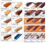 Perfiles para pisos de aluminio multifuncional recubiertos de madera de la serie Mbe