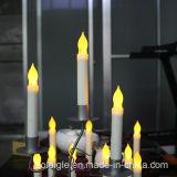 Длинняя свечка пламени СИД Votive Tealight желтого цвета ручки