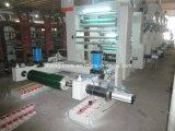 Máquina de impressão de alta velocidade do Gravure de 8 cores do computador (máquina de impressão especial do papel de rolo)