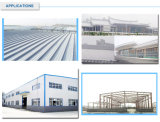 Insullation resistente ao calor PPGI HDG mergulhou o aço inoxidável galvanizado para o edifício do metal