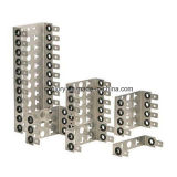 Рамка держателя задней части нержавеющей стали для Lsa 10 пар/модуля Krone
