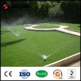 Venta de la fábrica 5-8 años de Warrantly del paisaje de césped artificial natural del jardín