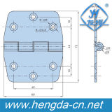 Dobradiça do armário do aço inoxidável da alta qualidade Yh9407