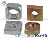 Noix carrée d'acier inoxydable d'acier du carbone de qualité
