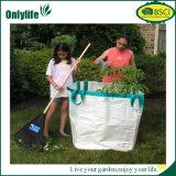 2つのハンドルが付いているOnlylifeオックスフォードの布の庭の葉袋