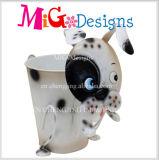 Prodotto di Hotsale del metallo del cane della piantatrice della decorazione antica del giardino nuovo