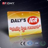Carte préimprimée de puce RFID de PVC 13.56MHz