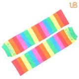 Het Patroon Legwarmer van de Regenboog van de baby