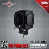 IP67 7 Inch (8PCS*10W) 80W CREE LED Work Driving Light (SM-7080-SXA)