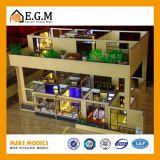 Fabricación del modelo de la unidad/del modelo del apartamento/modelo del edificio del proyecto/modelo fino de la familia