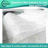 Bon tissu non-tissé hydrophile pour les matières premières de couche-culotte de bébé