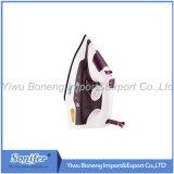 陶磁器のSoleplateが付いている電気蒸気鉄の電気鉄Sf-9004 (紫色)