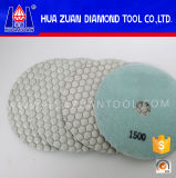 Шестиугольник Resin Flexible Dry Polishing Pad для Angle Grinder