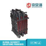 24 faixas de trabalho do detetor de metais 100 ao ar livre do procedimento da segurança da sensibilidade das zonas 255