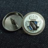 Кнопки металла хвостовика Vintsge плакировкой для пальто