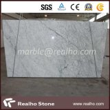 Polished Bianco Carrara White Marble Slab para la venta