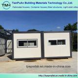 Chambre modulaire de conteneur pour le chantier de construction
