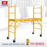 Andaime de dobramento resistente ajustável da altura Multifunction (YH-SD601)