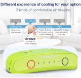 Ventilador portátil e recarregável com o soquete do isqueiro do USB ou do charuto