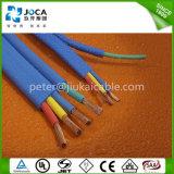 Плоской гибкой обшитый резиной подводный электрический кабель насоса погружающийся
