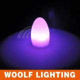 Nueva invención de alta tecnología lámpara brillante y clara del LED del huevo de vector